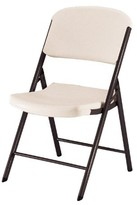 Lifetime 4 Piece Heavy Duty Folding Chair Almond