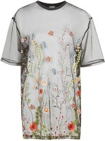 Jaded London **Embroidered T-Shirt Dress