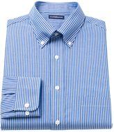 Croft & Barrow Men's Fitted Ralphy Striped Button-Down Dress Shirt