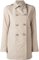 Aspesi double breasted coat - women - Cotton/Polyester - XS
