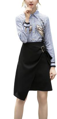 BURRYCO 2Pc Shirt & Skirt Set