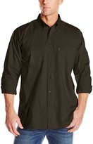 Key Apparel Men's Long Sleeve Button Down Cotton Work Shirt