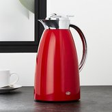 Crate & Barrel Alfi Gusto Red Thermal Carafe