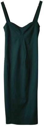 Diane von Furstenberg Green Wool Dresses