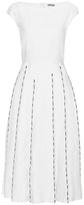 Bottega Veneta Embroidered linen and cotton dress