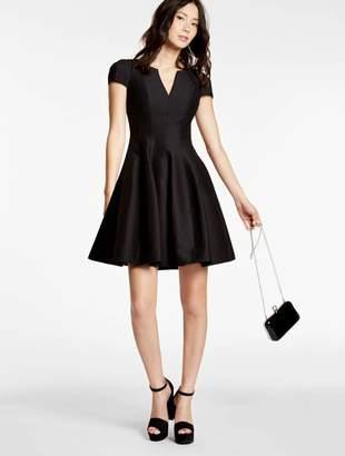 Halston Structured Faille Dress
