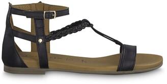 Tamaris Kim Leather Gladiator Sandals