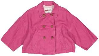 Prada Pink Linen Jackets