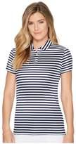 Nike Dry Polo Short Sleeve Stripe Women's Clothing
