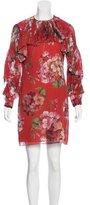 Gucci 2015 Shanghai Blooms Dress