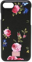 Dolce & Gabbana Dauphine Embossed Leather Iphone 7 Case