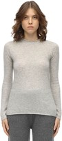 Agnona CASHMERE & SILK KNIT SWEATER
