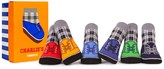 Trumpette Charles' Sock Set - Pack of 6 (Baby Boys)