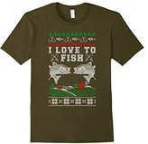Women's I Love to Fish Official Ugly Christmas Sweater Medium