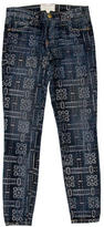 Current/Elliott Patterned Skinny Jeans w/ Tags