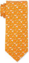 Salvatore Ferragamo Safari Silk Tie