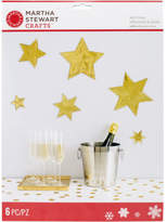 Martha Stewart M4830364 Starburst Wall Cling-holiday Lodge