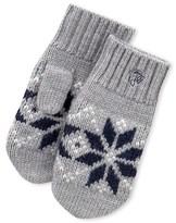 Petit Bateau Boys wool jacquard mittens