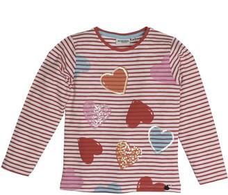 Salt&Pepper Salt and Pepper Girl's Longsleeve Sunny Day Stripes T-Shirt