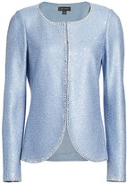 St. John Luxe Sequin Knit Jacket