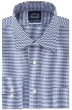 Eagle Men's Slim-Fit Gingham Dress Shirt