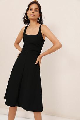 Maeve Sheila Midi Dress By in Black Size XS