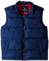 U.S. Polo Assn. Men's Big-Tall Basic Puffer Vest