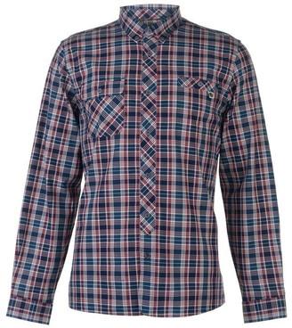 Pretty Green Langholme Long Sleeve Check Shirt