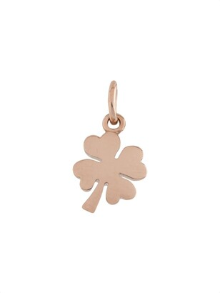 Dodo 9kt Rose Gold Four Leaf Clover Charm