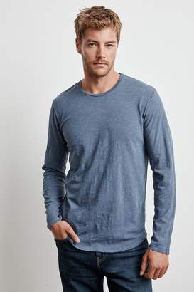 Velvet by Graham & Spencer CHANCE ORIGINAL SLUB LONG SLEEVE TEE