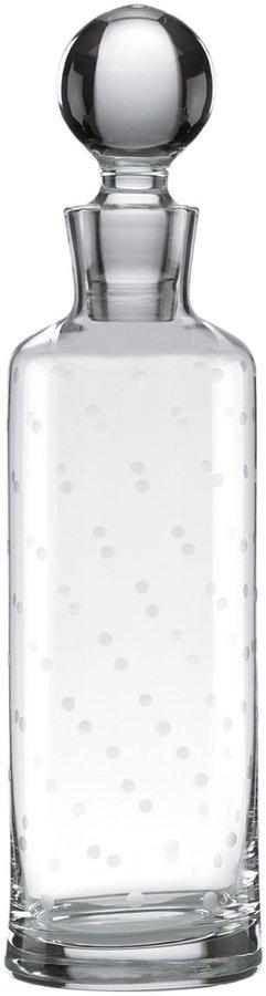 Kate Spade Larabee Dot Crystal Decanter