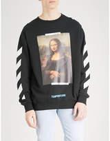 Off-White Mona Lisa cotton-jersey sweatshirt