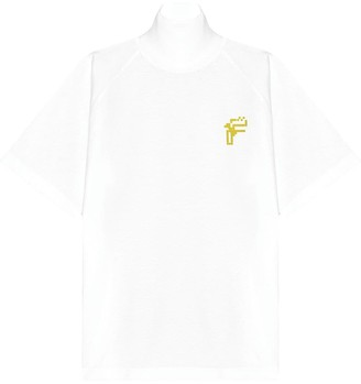Fenty by Rihanna Oversized high-neck printed T-shirt