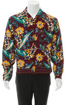 Prada Floral Print Button-Up Shirt