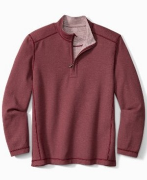 Tommy Bahama Men's Switch It Up Half-Zip Shirt