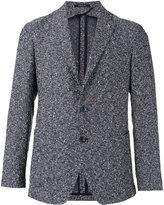 Tagliatore checked blazer - men - Cotton/Linen/Flax/Polyamide/Cupro - 48