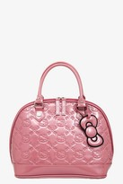 Hello Kitty Loungefly Mauvewood Patent Embossed Bag