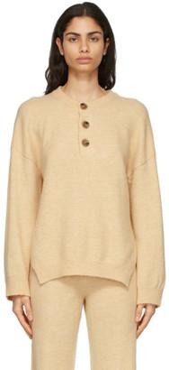Nanushka Beige Lamee Sweater