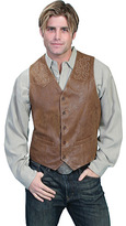Scully Men's Frontier Leather Vest 93