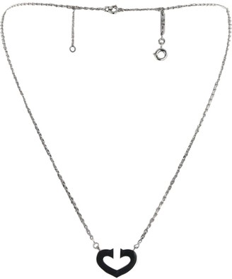 Cartier 2010 pre-owned white gold Coeur et Symbole necklace