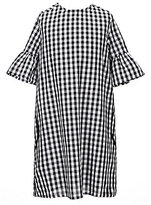 Soprano Big Girls 7-16 Gingham Shift Dress