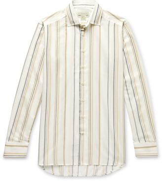 Etro Slim-Fit Striped Woven Shirt