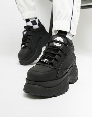 Buffalo David Bitton Classic chunky sole sneakers in black