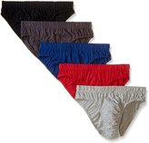 Beverly Hills Polo Club Men's 5 Pack Low Rise Brief