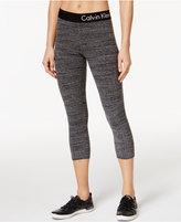 Calvin Klein Heathered Cropped Leggings