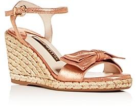 Sophia Webster Women's Bonnie 90 Wedge Espadrille Sandals