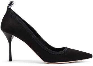Miu Miu Pointed Toe Heels in Black | FWRD