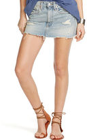 Denim & Supply Ralph Lauren Distressed Denim Miniskirt