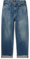 Chimala Distressed Selvedge Denim Jeans - Indigo