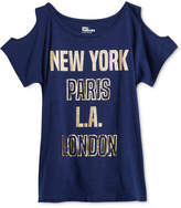 Epic Threads Printed Cold Shoulder T-Shirt, Big Girls, Created for Macy's